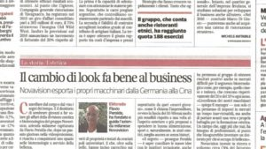 Il cambio di look fa bene al business
