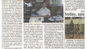 """""""La Novavision di Misinto azienda da record: macina utili, assume e investe in ricerca."""""""