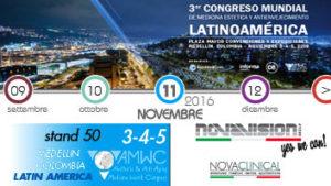 Novaclinical ad AMWC a Medellín – LATIN AMERICA