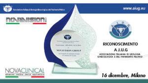 RICONOSCIMENTO A.I.U.G – Associazione Italiana di Urologia Ginecologica e del Pavimento Pelvico